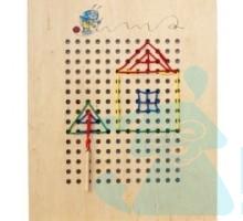 Ігрова панель Шнурівка вишивання